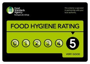 Van Chaud Food Hygiene Rating 5*