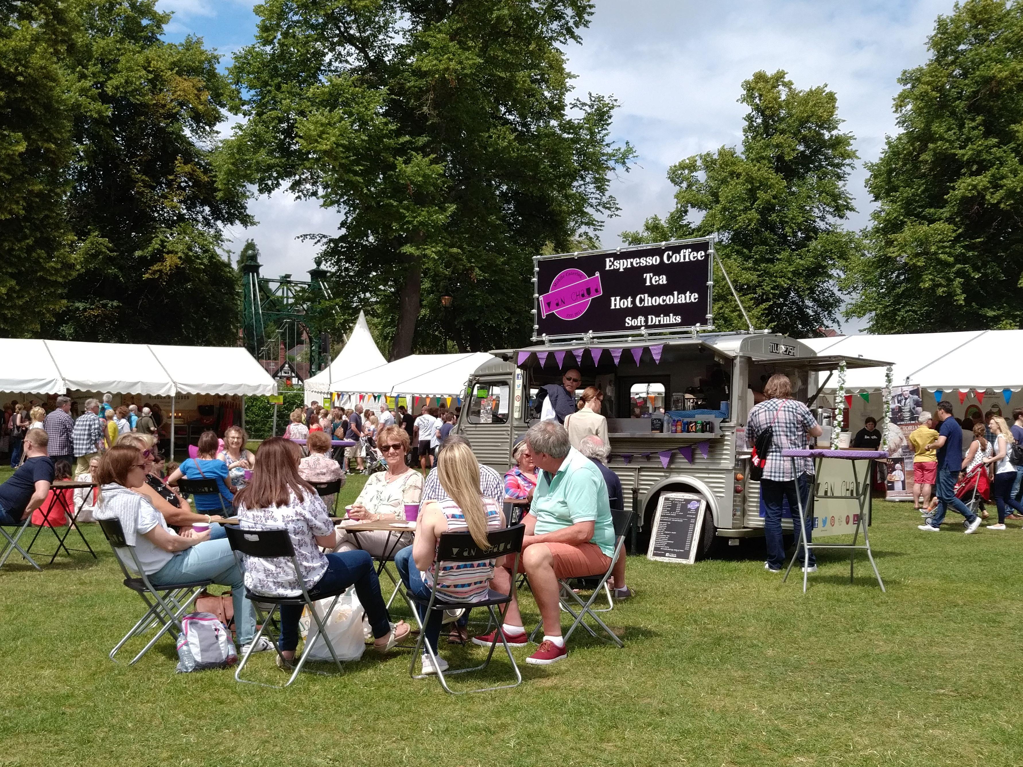 Shrewsbury Food festival 2017