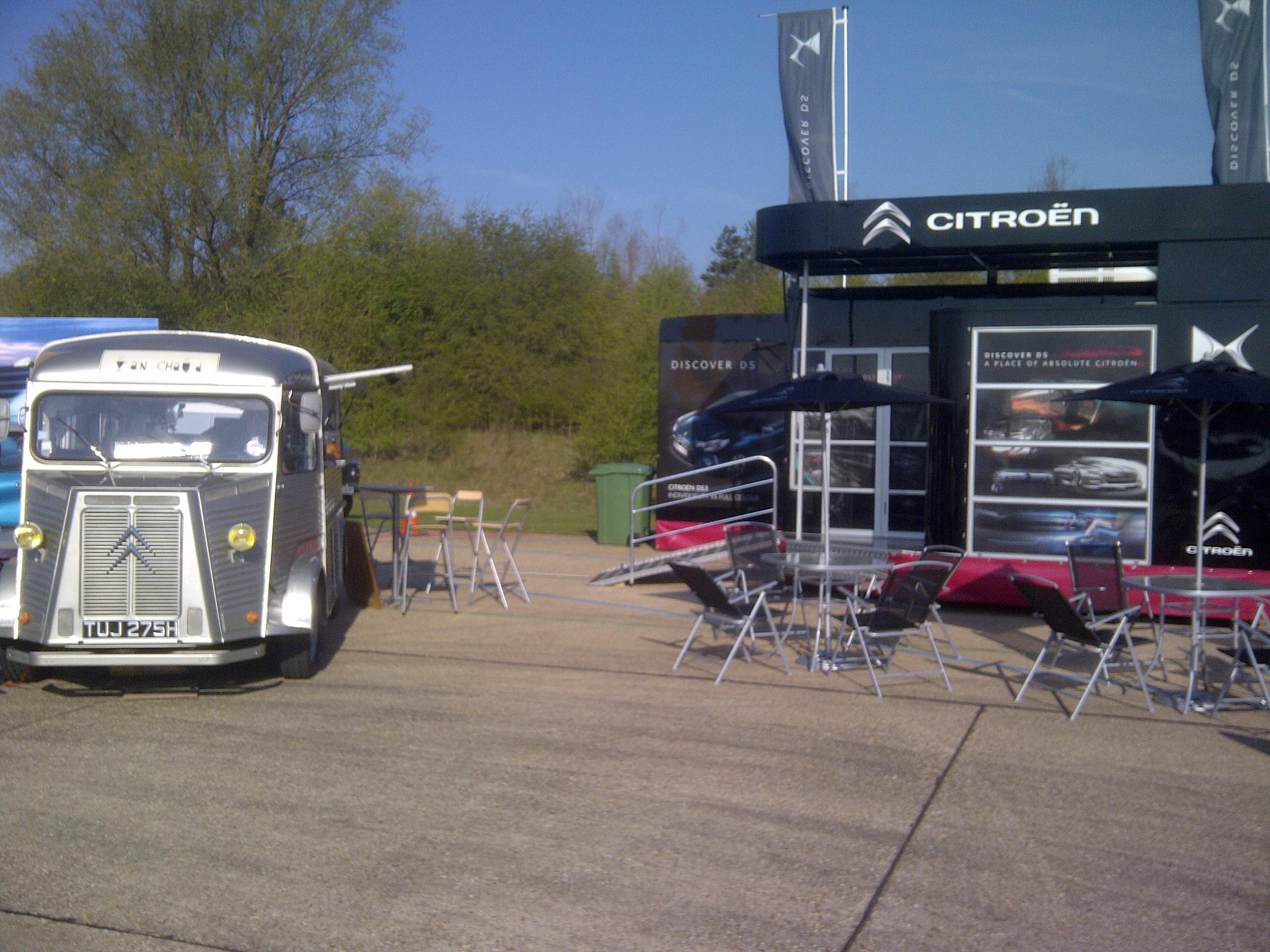 Back with Citroen UK for the SMMT near Milton Keynes