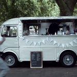 Van Chaud in the Crestbridge commercial shoot Victoria Park London