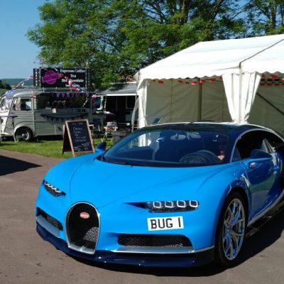 Prescott Speed Hill Climb near Cheltenham was the location for La vie En Bleu again in 2017 Bugatti owners club