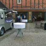 Van Chaud at Delbury Hall Wedding venue Craven Arms Shropshire