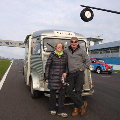 Donington Race track H van meeting 2014