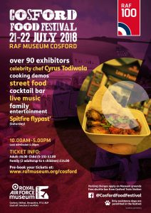 Cosford Food Festival 2018 Flyer